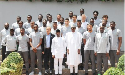 Buhari and Super Eagles
