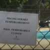 Pool where six-year- old drowned