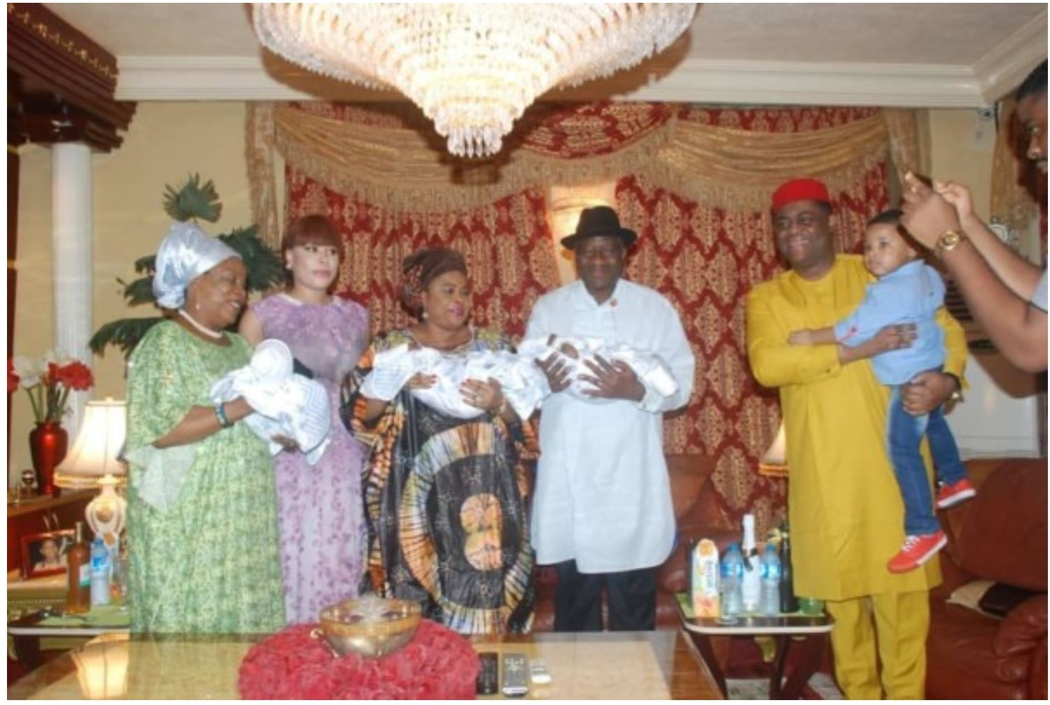 Fani Kayode and the Jonathan's