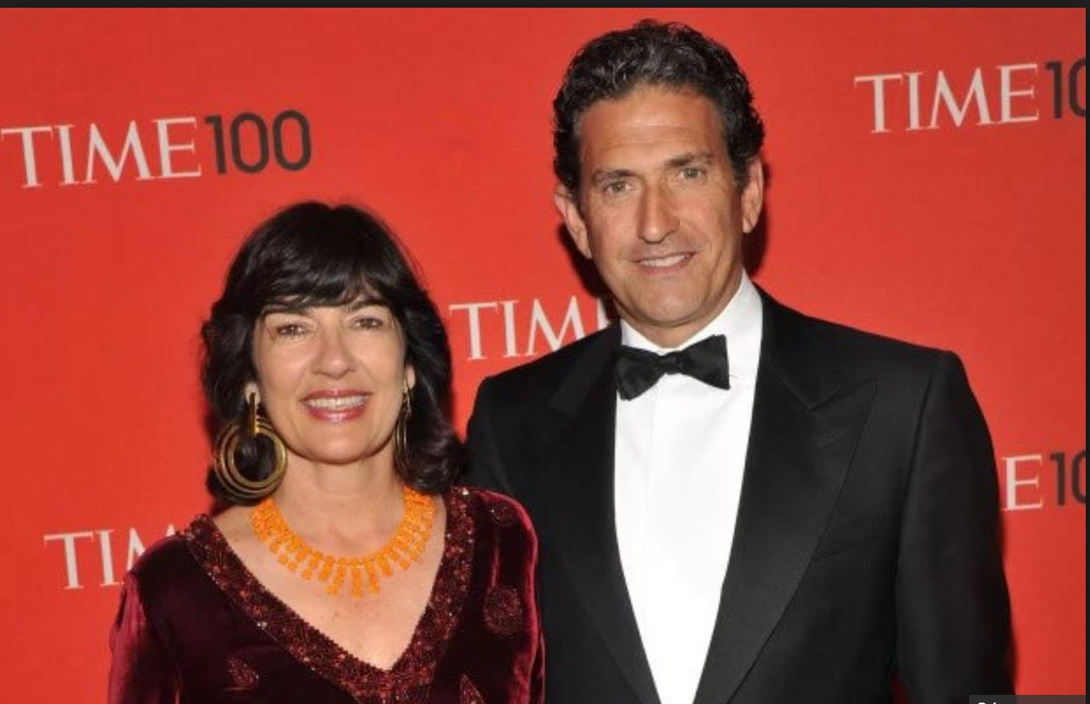 Christiane Amanpour and husband