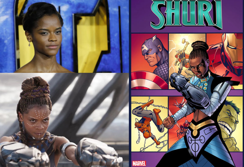 Image result for Nnedi Okorafor is Writing Marvel's New Comic Book Series about Black Panther's Sister Shuri