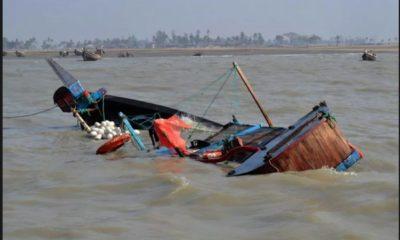 Lagos Boat capsizes