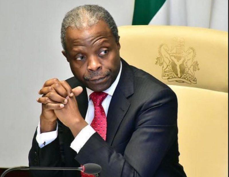 Yemi Osinbajo Buhari aides