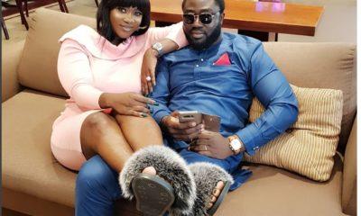 Prince Odi Okojie and Mercy Johnson