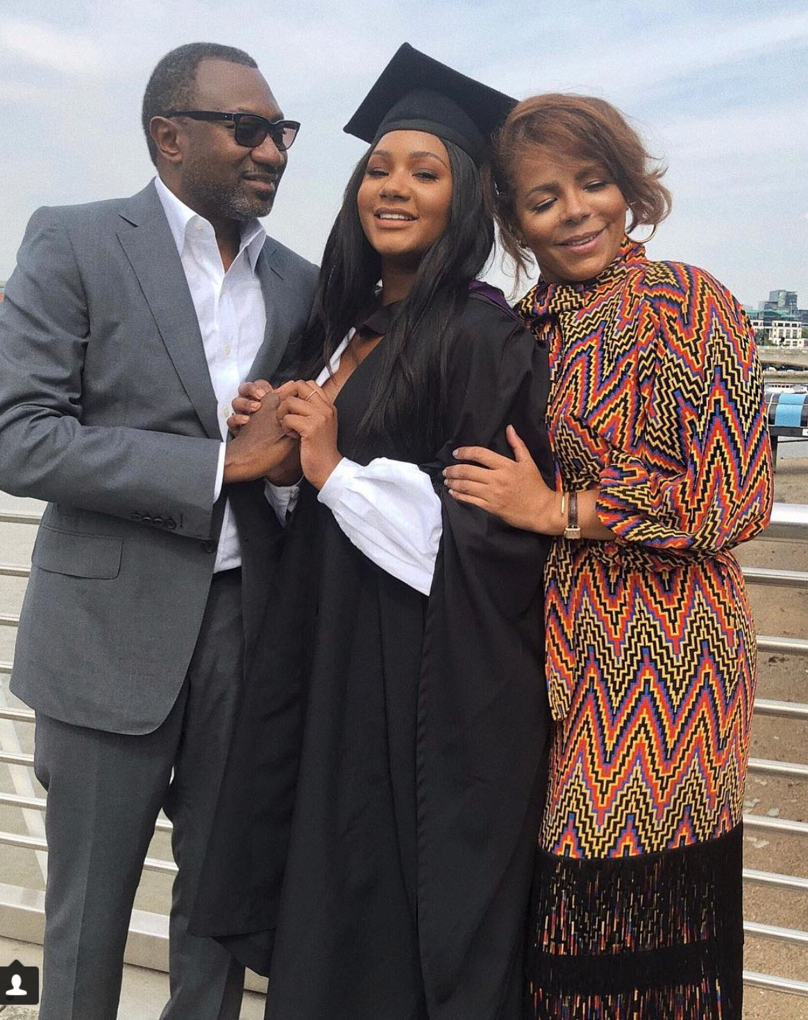MY BABY ANGEL IS ABOUT TO TAKE OVER! Femi Otedola celebrates