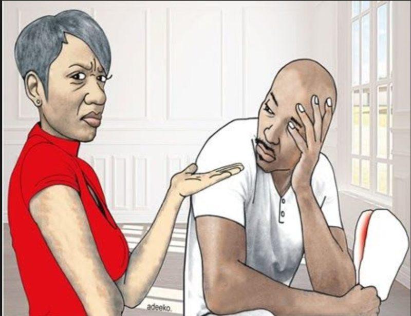 divorce-seeking wife