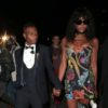Wizkid and Naomi Cambell