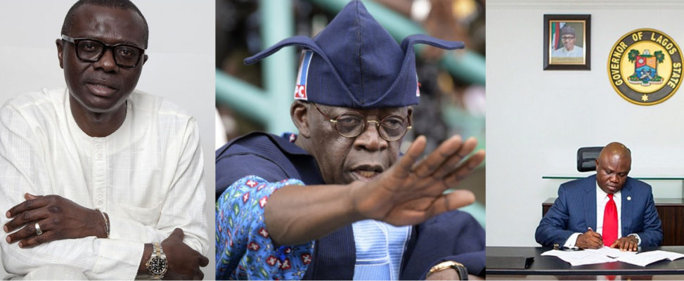 Image result for 2019 : TINUBU VS AMBODE... LAGOSIANS REACT