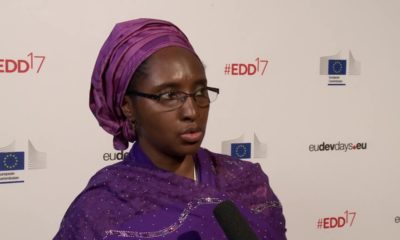 AFTER KEMI ADEOSUN'S RESIGNATION! Zainab Ahmed resumes duty as Supervising Minister of Finance