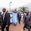 OSUN ELECTION! Buhari arrives in Osogbo [Photos]