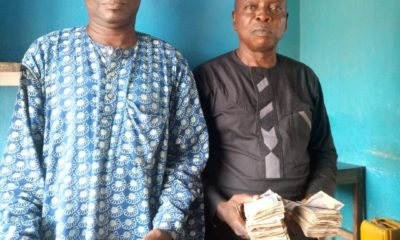 Mr Adebayo Rafiu and Muraian Latif