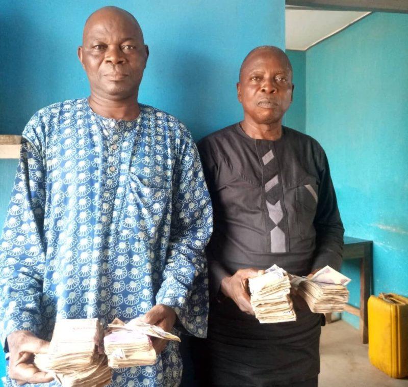 Mr Adebayo Rafiu and Muraian Latif