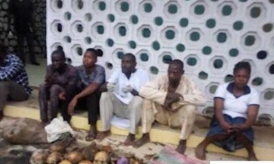 Police arrest five with 11 human skulls