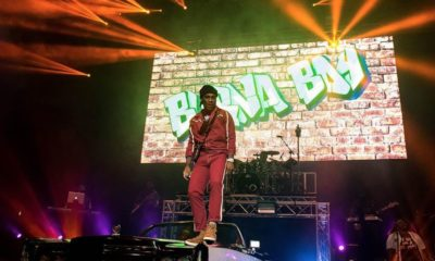 Burna Boy sold out 02 academy