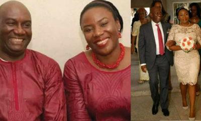Late Mr. Symphorosa Otike-Odibi and wife, Udeme