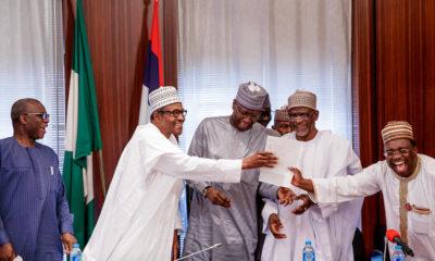Buhari receives WAEC result
