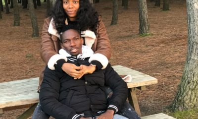 Kenneth Omeruo and wife