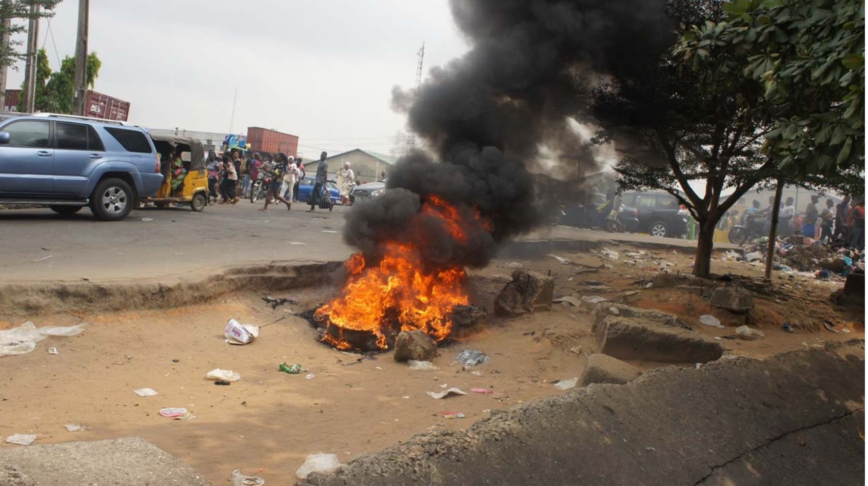 PoS robbers Danfo driver lynched