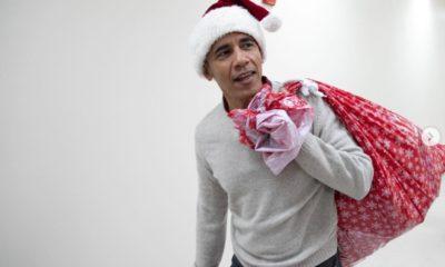 Santa Barack Obama