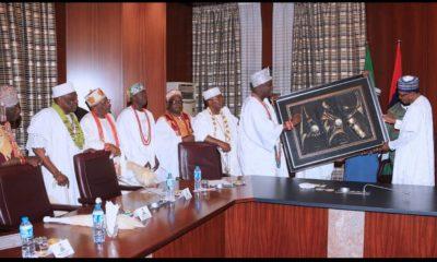 Traditional rulers and Buhari