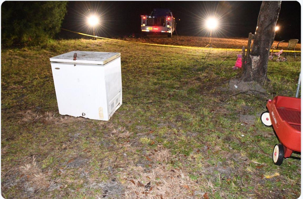 heartbreaking  three minors found dead inside freezer