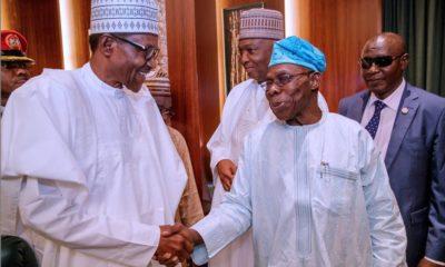 Buhari and OBJ
