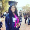 Omotola Ekeinde's first child graduates from University