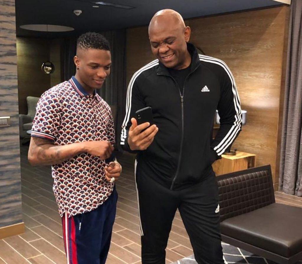 Wizkid vs Tony Elumelu: Fans compare their net worth ...