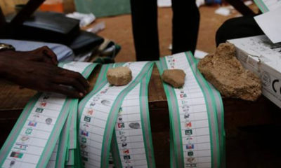 Polling votes