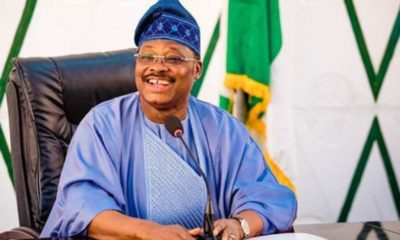 Covid-19: Ajimobi reportedly battles for his life on hospital bed