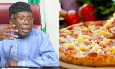 Audu Ogbeh Pizza