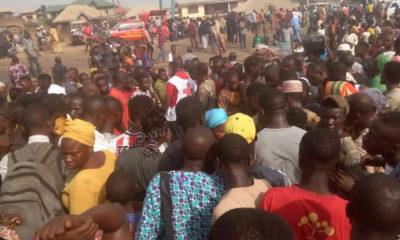 Petrol tanker fire in Ibadan