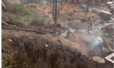 Ibadan tanker fire