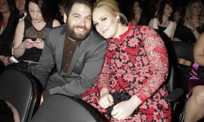 Adele and her husband, Simon Konecki