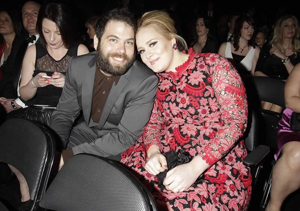 Adele and her husband, Simon Konecki