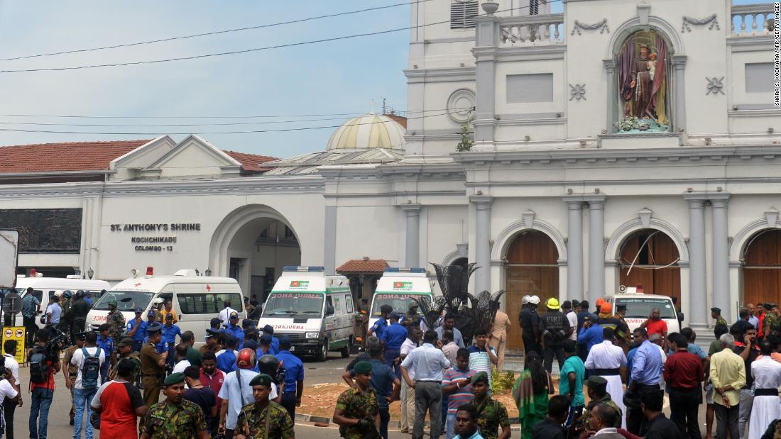 Sri Lanka church-bombing