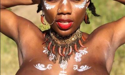 Korra Obidi's naked shoots