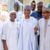 Ramadan: Buhari breaks fast with Saraki, Dogara, other NASS leaders