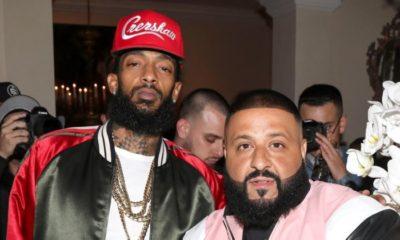DJ Khaled and late slain rapper Nipsey Hussle