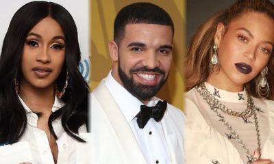 Cardi B, Drake and Beyonce