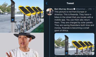 Eagle-eyed Nigerian exposes Senator Ben Murray-Bruce for lying about picture he posted on Twitter