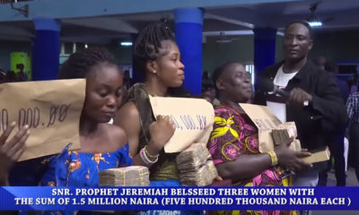 Members who donated N50 for church project gets N1,500,000 million from pastor