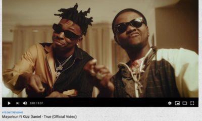 Mayorkun feats Kizz Daniel, Jemima Osunde in 'hit track, True' [Video]