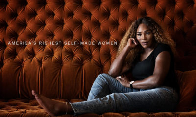 Serena Williams makes history as the first athlete on Forbes' Richest Self-Made Woman
