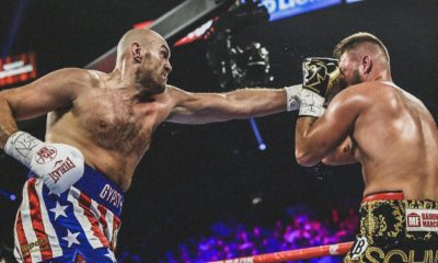 Unbeaten British heavyweight Tyson Fury outclassed Germany's Tom Schwarz to score a victory by second-round technical knockout here Saturday.