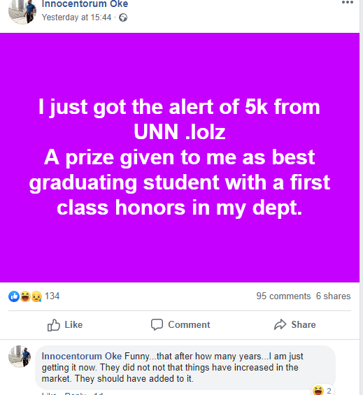 UNN graduate