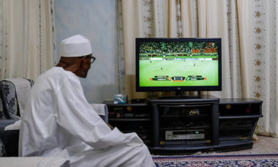 Buhari Super Eagles