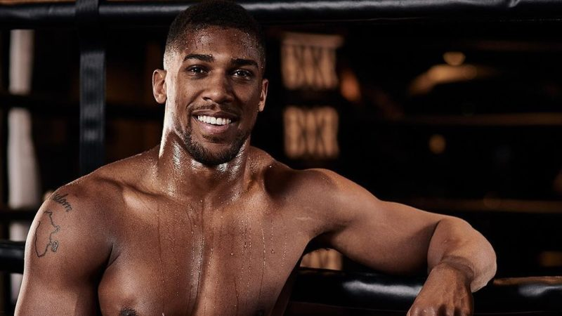 I don't have a girlfriend because it's hard to find a balance- Anthony Joshua reveals