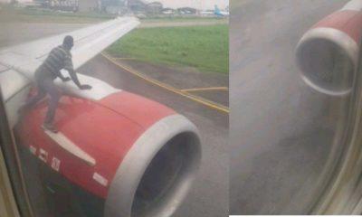 plane Lagos Airport
