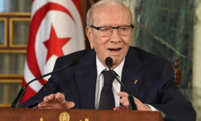 Tunisia's president, Beji Essebsi